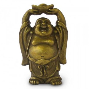 880-bouddha-rieur-debout-levant-le-lingot-dor-300-300